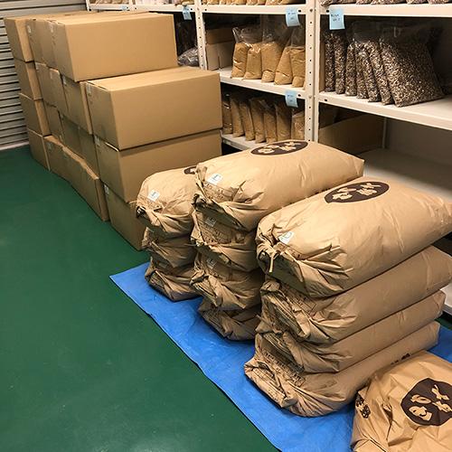 新ものの雑穀たち